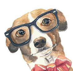 On her 'Water in My Paint' Etsy Shop, artist Deidre Wicks creates beautiful and awe-inducing animal watercolor paintings that will get animal lovers in a tizzy.
