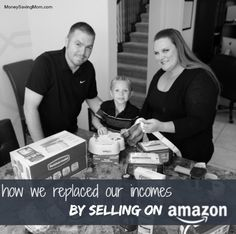 See how we were able to replace our income by selling on Amazon.    If you like shopping, then this is a great story for you!