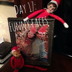 Elf on a Shelf with The 4-Crow's 2013- Week 3