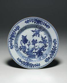 plate; Qing dynasty; Kangxi; 1662-1722; China