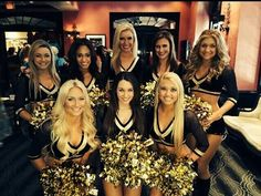 New Orleans Saints Cheerleaders. The Saintsations