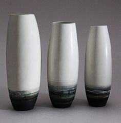 Ceramics by Jill Ford at Studiopottery.co.uk - 2015. Standing forms