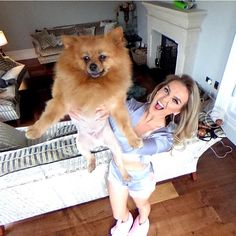 Unseen Perrie photo with Hatchi on the set of a music video Hair