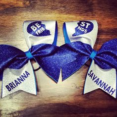 cheer bow by BragAboutItCheerBows on Etsy