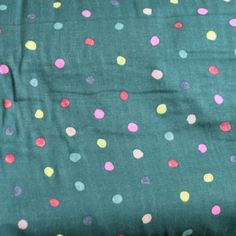 PRICE IS PER HALF METREPart of the stunning Japanese Nani Iro range designed by Naomi Ito, printed on super-soft double-layer cotton gauze.Lovely for clothing (adult shirts, dresses, baby and child clothes) and whole-cloth quilts.110cm wide