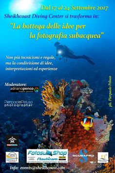 The workshop of ideas for underwater photography