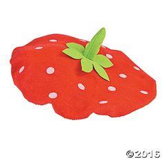 Child's Strawberry Beret