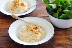 Cashew & Cauliflower Mash, with the richness of the cashews and coconut milk, deeply satisfying meal in a bowl