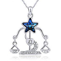 Libra Pendant Necklace