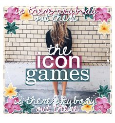 """♡ THE ICON GAMES ♡"" by the-wallpaper-account ❤ liked on Polyvore featuring art, madebyemma and theicongames"