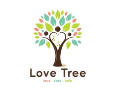 love Care Help Tree Logo design - This logo is great for family counselor, therapist, ecology awareness, non profit organization, community group, education, school, rehabilitation, medical clinic, family clinic, spiritual care, training center, charity, human resources, helping community, foundation community, special needs , floral designer, landscaping, consulting, legal, retail. ..and much more. Any minor changes such as colors or font is FREE after purchase.<br />keyideas…