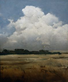 """2012, Skies Over Cove by Joseph Alleman Oil ~ 30"""" x 25"""""""