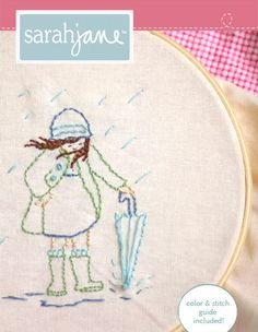 Sarah Jane - month by month embroidery patterns