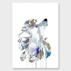 Through the Glass Art Print by Makus Art