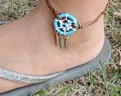 dreamcatcher anklet- i want this :)