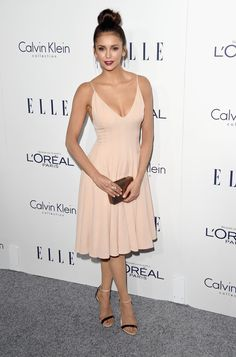 Pin for Later: Hollywood's Leading Ladies Gather For Elle's Annual Soirée Nina Dobrev