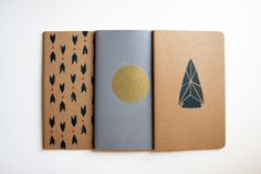 BRIKA Notebook Set//