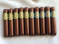 Safari theme chocolate cigars