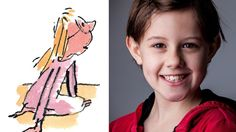 Ruby Barnhill to play Sophie, here illustrated by Sir Quentin Blake, in Steven Spielberg's forthcoming film adaptation Film Adaptation, Quentin Blake, The Pipeline, Bfg, Steven Spielberg, Roald Dahl, Play