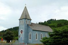 St. Mary's Catholic Church built 1904. McGowan, Washington was a stop on the Ilwaco Railway and Navigation Company's narrow gauge line that ran on the Long Beach Peninsula in Pacific County, Washington, USA from 1889 to 1930. In the late 19th century, P.J. McGowan bought land in the area for $1,200, and built his house, a dock and a salmon cannery on the site. During the railroad times, the main line and a passing siding ran through McGowan