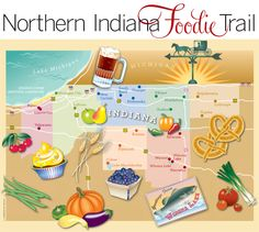 Foodie Trail...this can't be bad. (Except for the waistline)