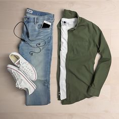 casual style outfit grid for men Stylish Mens Outfits, Casual Outfits, Men Casual, Fashion Outfits, Casual Wear, Plaid Shirt Outfits, Teen Outfits, Woman Outfits, Casual Attire