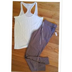VICTORIA'S SECRET JOGGER LOUNGE PANTS / TAUPE NWT!  Get your game on with these GORGEOUS and COMFY joggers from Victoria's Secret! Victoria's Secret Pants Track Pants & Joggers