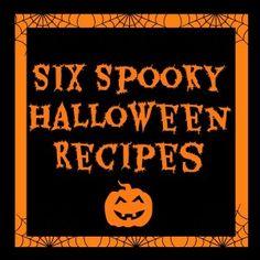 Six Spooky Halloween Recipes