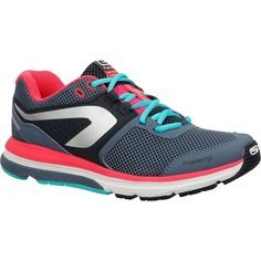Check out our New Product  Ekiden prime woman running shoes in grey pink COD Made for for female runners weighing between 60-90 kg, road and path running 3 times a week for about an hour each time.Heel cushioning that ensures perfect shock absorption throughout your run. Increased stability thanks to the shoes' side support! As comfortable as slippers.  ₹3,849