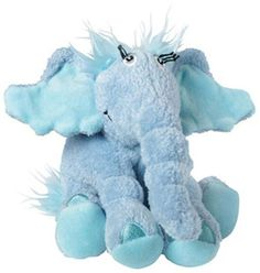 This is the Dr. Seuss Horton Hears A Who 6 Inch Plush Figure. It's produced by the nice people over at Manhattan Toys. Horton stands well and is soft and cuddly