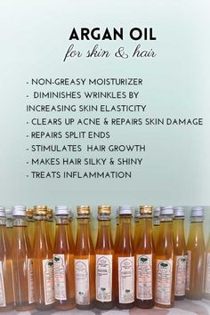 Argan oil for skin and hair
