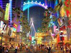 Las Vegas shopping mall -- EEK!