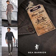 Lookbook AW 2014    #lookbook #man #promocionmoda #blueside #seabarrier #aw2014 #moda #hombre #casual #look #textil    www.promocionmoda.com/maniffatura-corona-man/