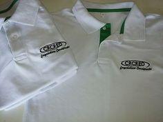 Camisa Pólo em Piquet Bordada