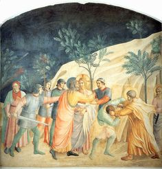 Arrest of Christ by Fra Angelico