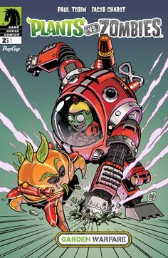 Plants vs. Zombies: Garden Warfare #2 #DarkHorse #PlantsVsZombies Release Date: 11/25/2015