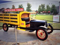 Great 1919 Model T Ford @cocacola delivery truck from Coca-Cola United at the #CCBA 100th Celebration