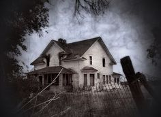 Abandoned farmhouse. Is it haunted?