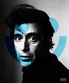 Al Pacino Smile #Art by #deJoost