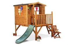 Buy Mad Dash Bunny Tower Xtra Playhouse Including Slide 6 x 7 from our Playtents & Houses range - Tesco.com