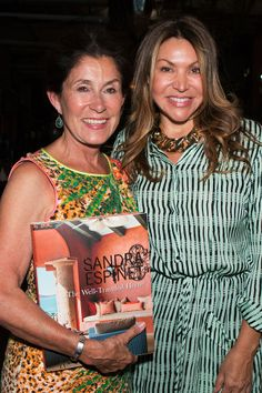 Michelle Brenner and Sandra Espinet at The Well-Traveled Home book signing at Berbere World Imports in Los Angeles, May 2014. #thewelltraveledhome #sandraespinet #interiordesign #berbereworldimports