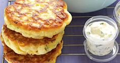 Make extra sweetcorn and zucchini fritters for dinner and pack the rest for lunch. Make extra sweetcorn and zucchini fritters for dinner and pack the rest for lunch. Zucchini Fritters, Zucchini Muffins, Chickpea Fritters, Zucchini Patties, Potato Fritters, Zucchini Carbonara, Vegetable Recipes, Vegetarian Recipes, Healthy Recipes
