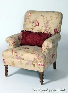 James' Chair in Vivienne/Antique, View 4