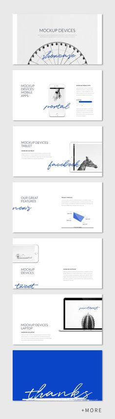 Minimal Marketing Presentation Template #presentation #keynote #simple #minimal #business #marketing #portfolio