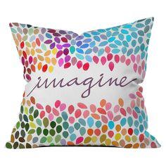 DENY Designs Imagine 1 Throw Pillow : Target