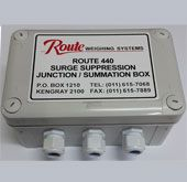 440 Surge Suppresion Box Connection for 1 indicator and 2 loadcells Sealed to IP 65 standards Unit Contains Surge Suppresion Robust, corrosion resistant enclosure Size: x (exluding Glands) Junction Boxes, Seal, Connection, The Unit, Harbor Seal