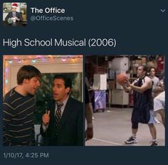 """51 Pics Guaranteed To Make """"High School Musical"""" Fans Laugh - Cutes Animal Best Of The Office, The Office Show, Stupid Funny Memes, Funny Quotes, Hilarious, Funny Stuff, Nerd Stuff, Awesome Stuff, Bugs"""