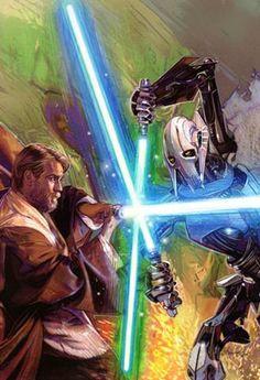 Star Wars - Obi-Wan's Foe by Tommy Lee Edwards