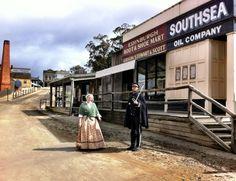 Sovereign Hill open-air museum, Ballarat, Victoria, Australia.