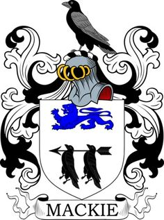 Mackie Family Crest and Coat of Arms